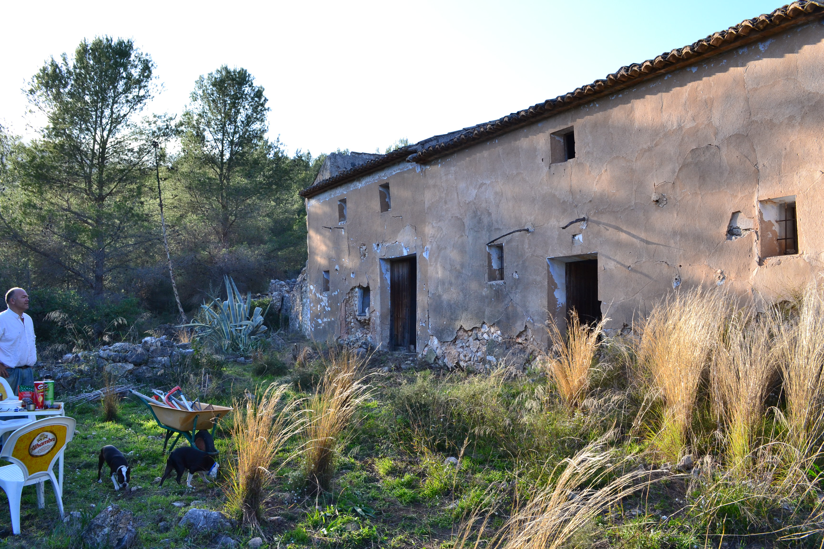 Finca Gines – large ruin with lots of land Guadalest